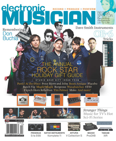 electronic MUSICIAN - December 2016 - Rock Star Gift Guide