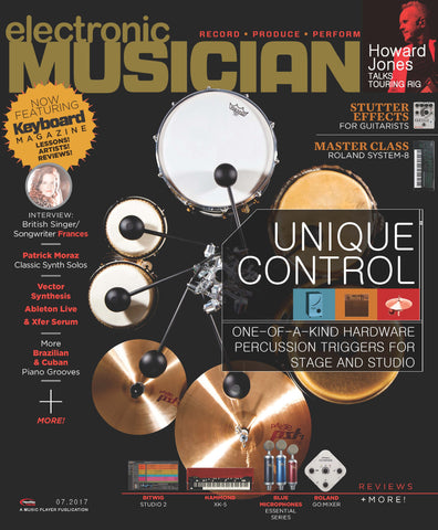 electronic MUSICIAN - July 2017 - E-Percussion Controllers
