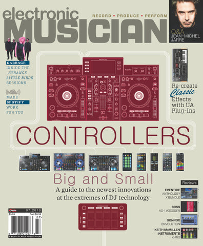 electronic MUSICIAN - July 2016 - Controllers BIG and small - NewBay Media Online Store