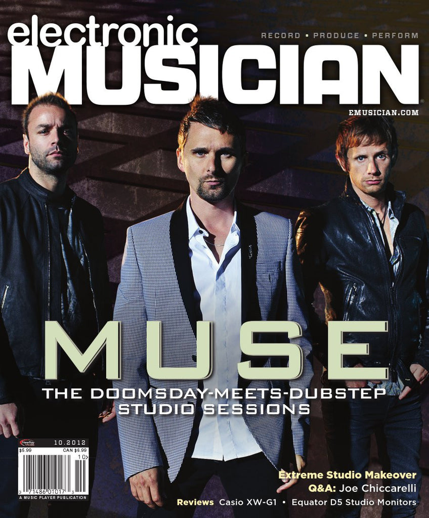 electronicMUSICIAN- Oct -2012 - Muse