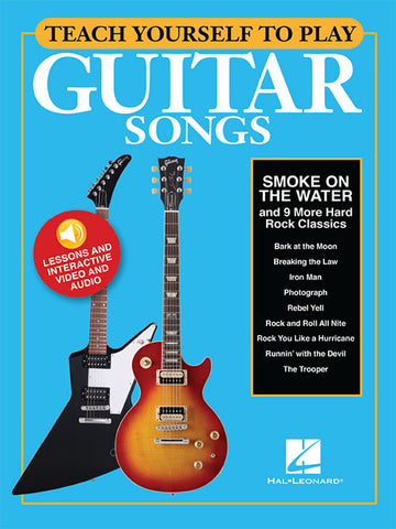"Teach Yourself to Play Guitar Songs: ""Smoke on the Water"" & 9 More Hard Rock Classics"