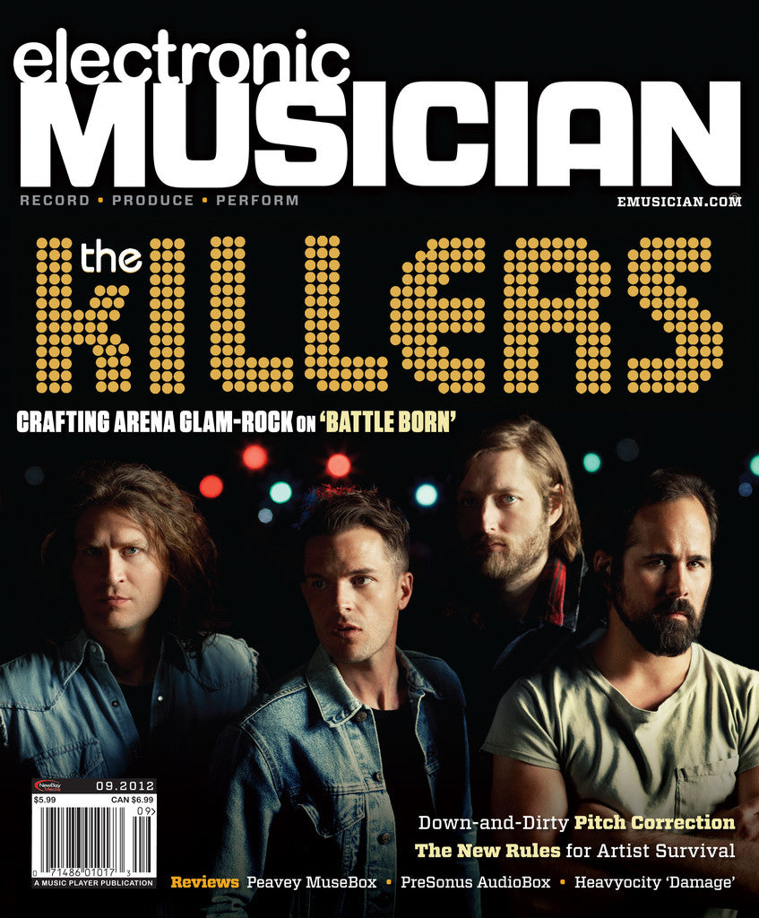 electronicMUSICIAN- Sept -2012 -The Killers