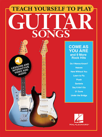 "Teach Yourself to Play Guitar Songs: ""Come As You Are"" & 9 More Rock Hits"
