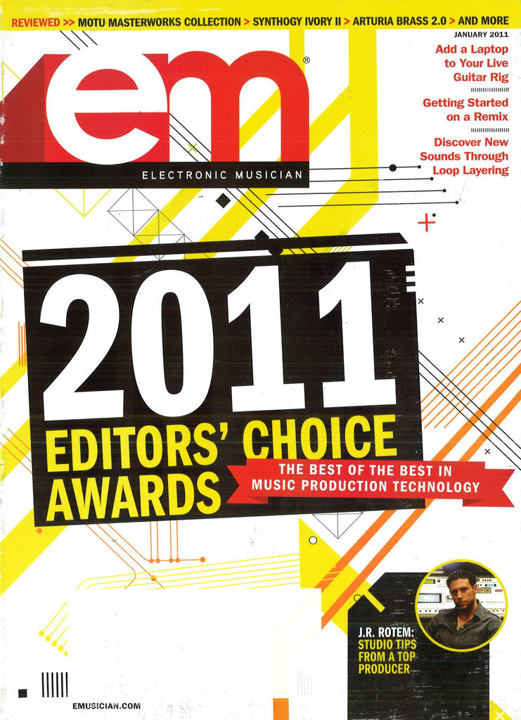 electronicMUSICIAN - Jan - 2011 Editors Choice Awards - NewBay Media Online Store