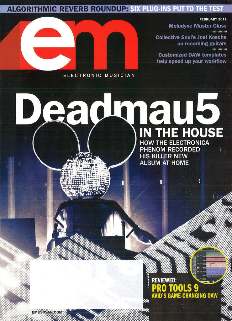 electronicMUSICIAN - Feb - 2011  Deadmau5 - NewBay Media Online Store