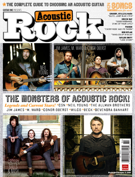 Acoustic Rock Magazine - Monsters Of Acoustic Rock! - NewBay Media Online Store