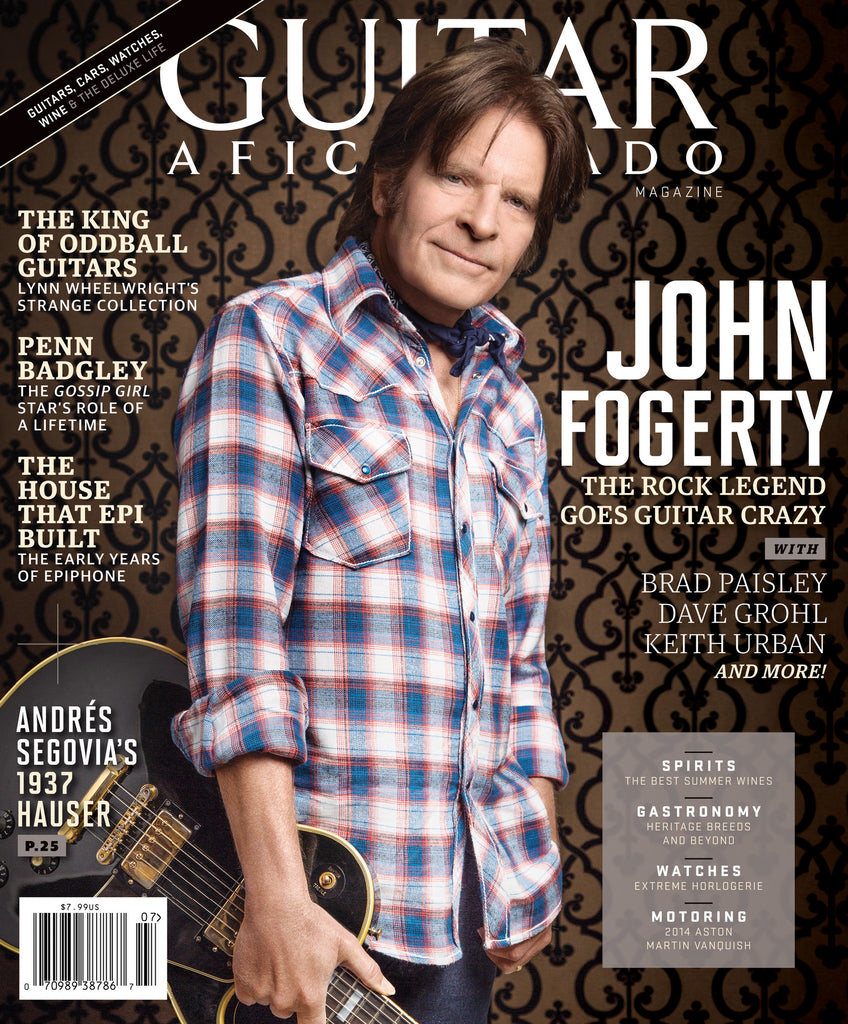 Guitar Aficionado - July/August - 2013 John Fogerty
