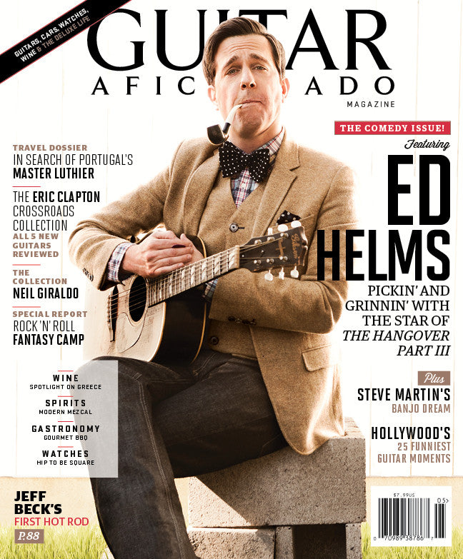 Guitar Aficionado - May/June - 2013 Ed Helms