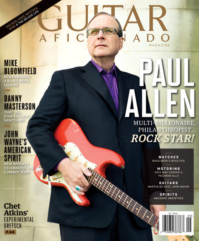 Guitar Aficionado - September/October - 2013 - Paul Allen