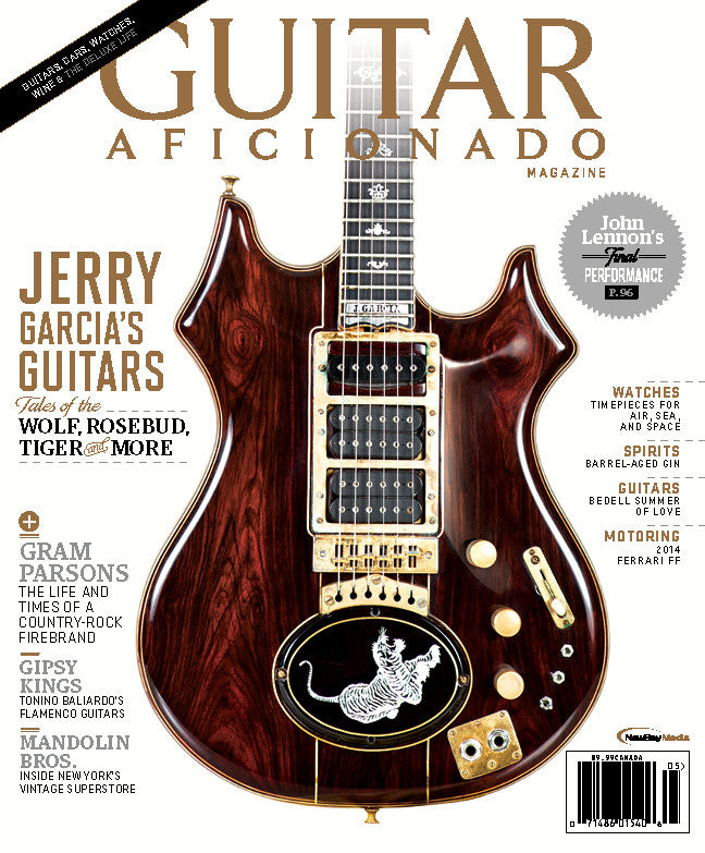 Guitar Aficionado - May/June - 2014 - Jerry Garcia's Guitars