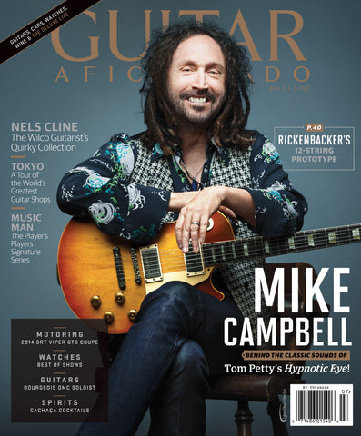 Guitar Aficionado - July/August- 2014 - Mike Campbell
