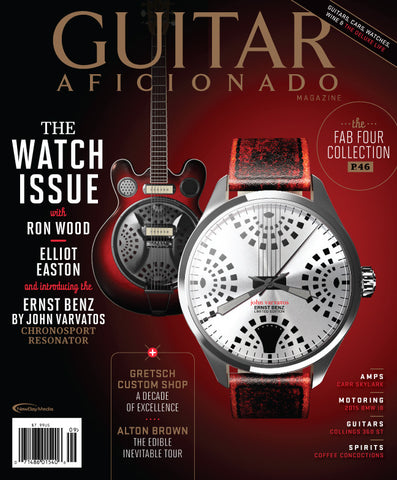 Guitar Aficionado - September/October- 2014 - The Watch Issue