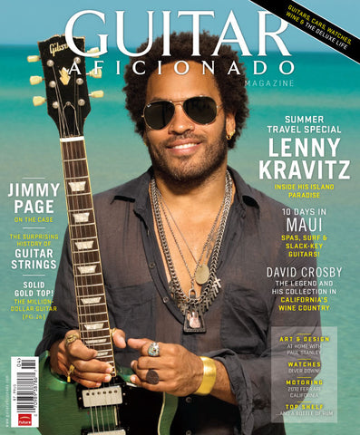 Guitar Aficionado Magazine - Summer 2010 - Lenny Kravitz, David Crosby