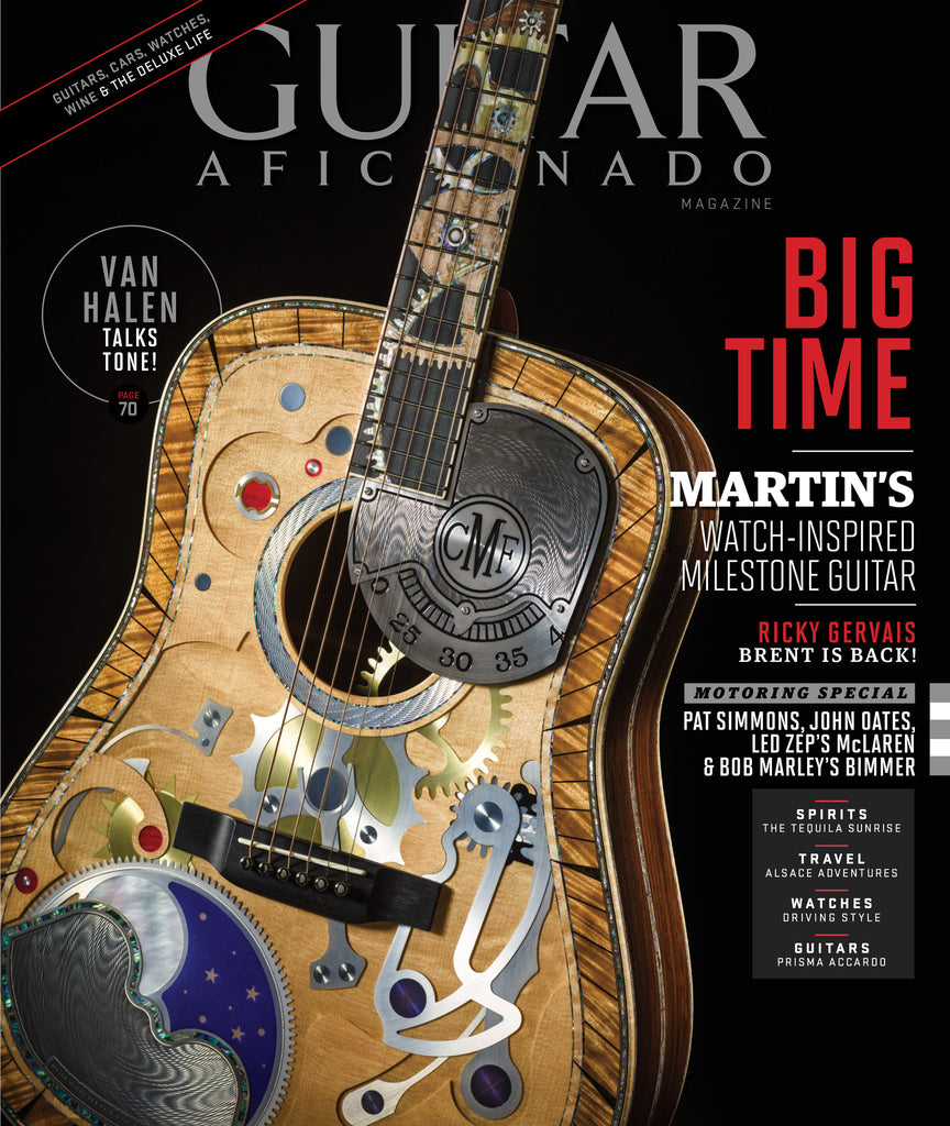 Guitar Aficionado – March/April 2017 - Big Time
