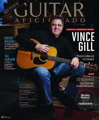 Guitar Aficionado – May/June 2017 - Vince Gill - NewBay Media Online Store