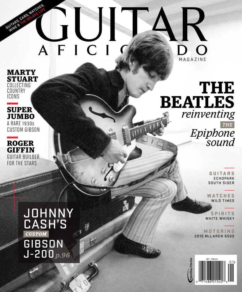Guitar Aficionado - January/February- 2015 - The Beatles & Epiphone - NewBay Media Online Store