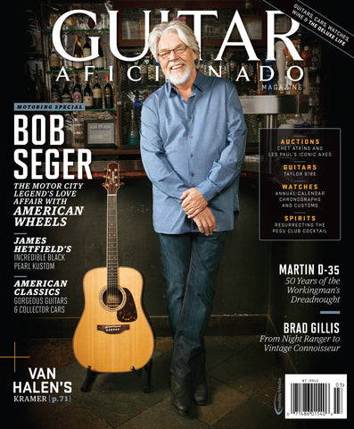 Guitar Aficionado - March/April- 2015 - Bob Seger