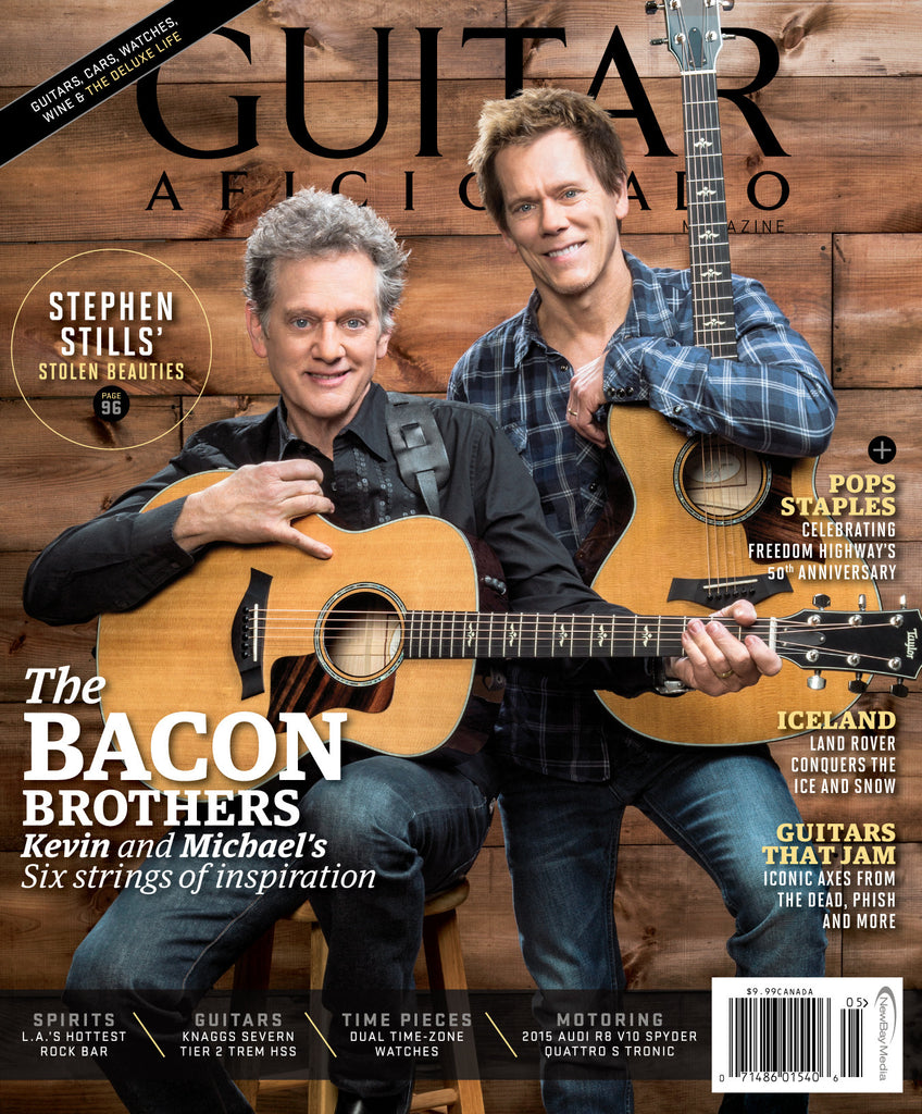 Guitar Aficionado - May/June- 2015 - The Bacon Brothers