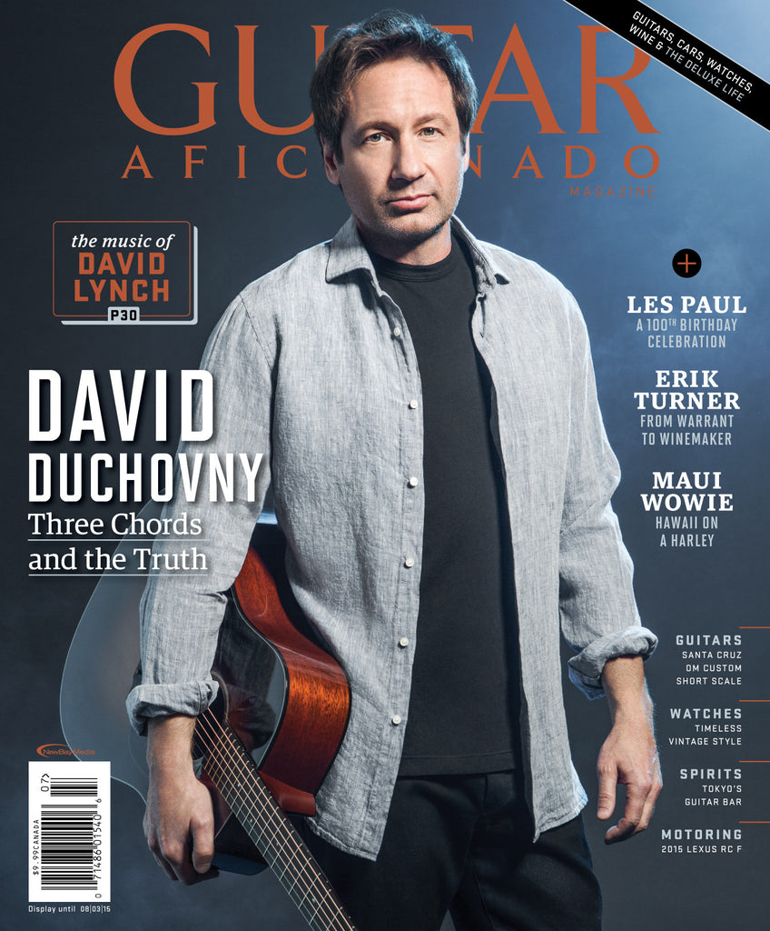 Guitar Aficionado – July/August 2015 – David Duchovny
