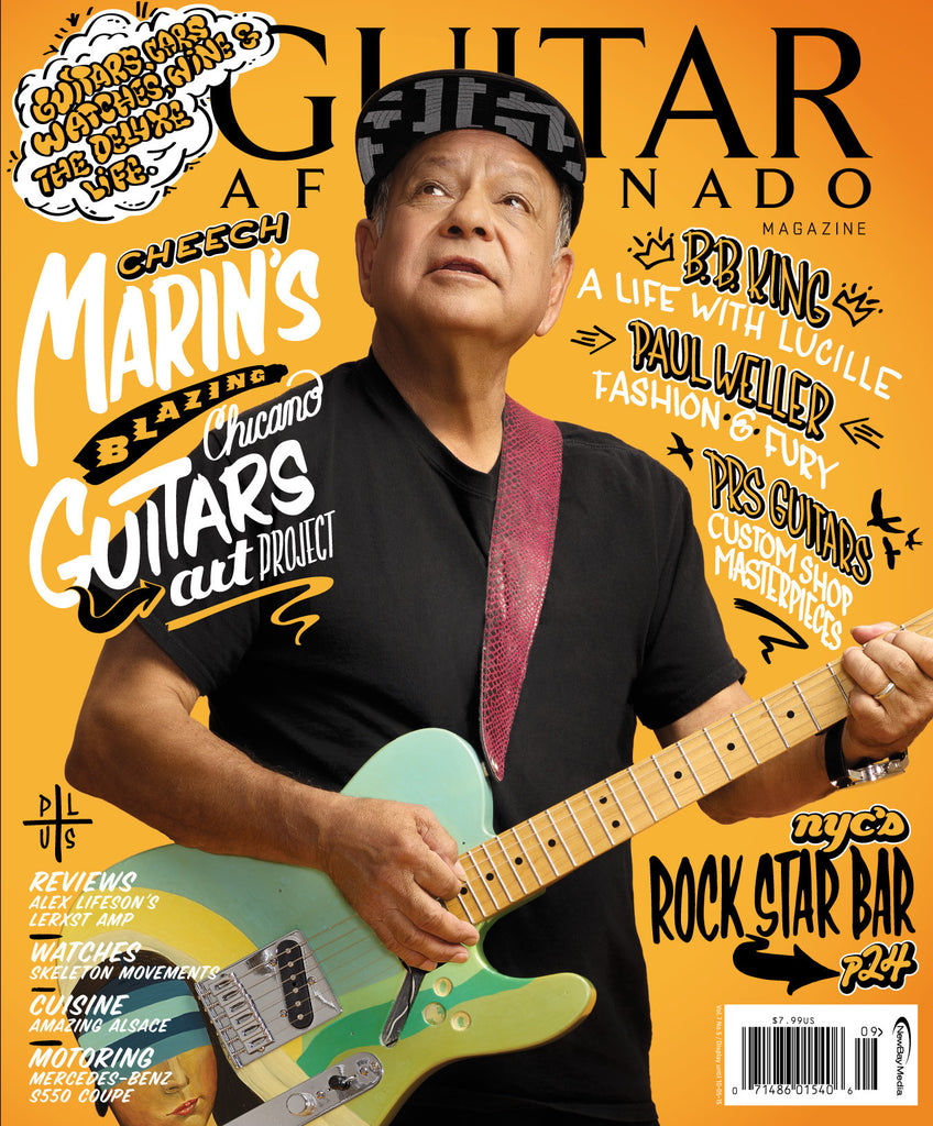 Guitar Aficionado – September/October 2015 – Cheech Marin