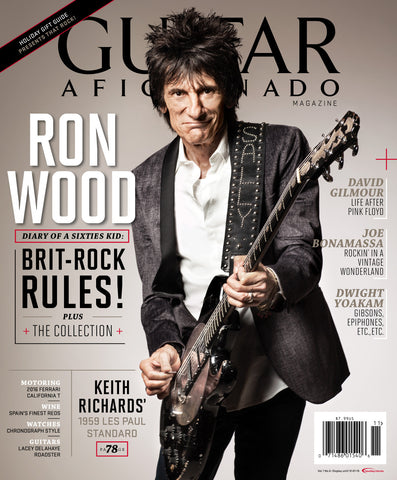 Guitar Aficionado – November/December 2015 – Ron Wood