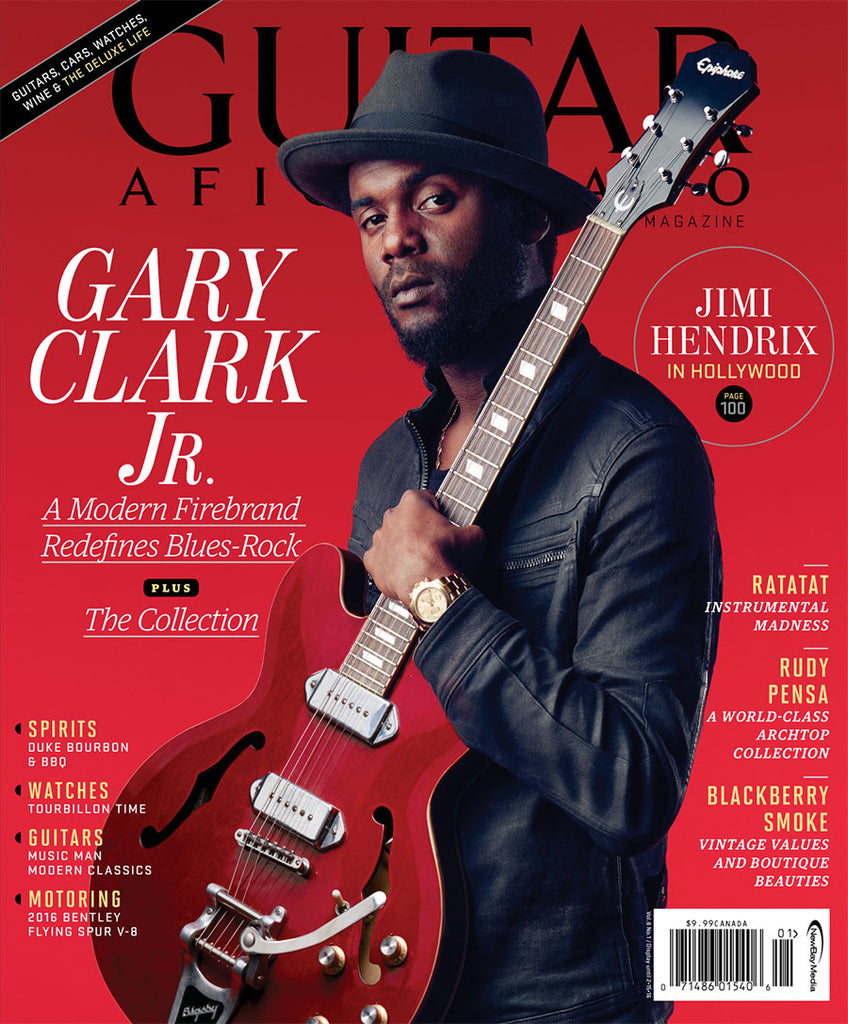 Guitar Aficionado – January/February 2016 – Gary Clark Jr.
