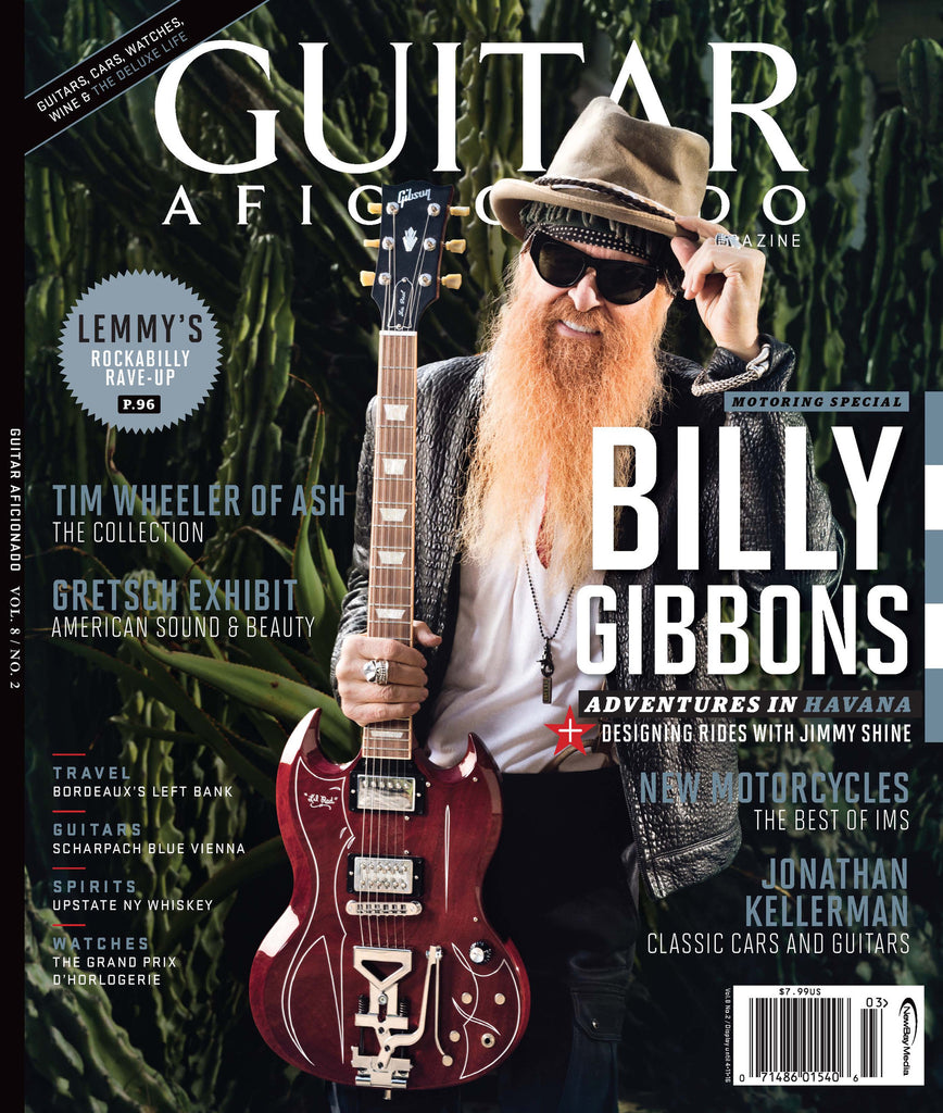 Guitar Aficionado – March/April 2016 – BillyGibbons - NewBay Media Online Store