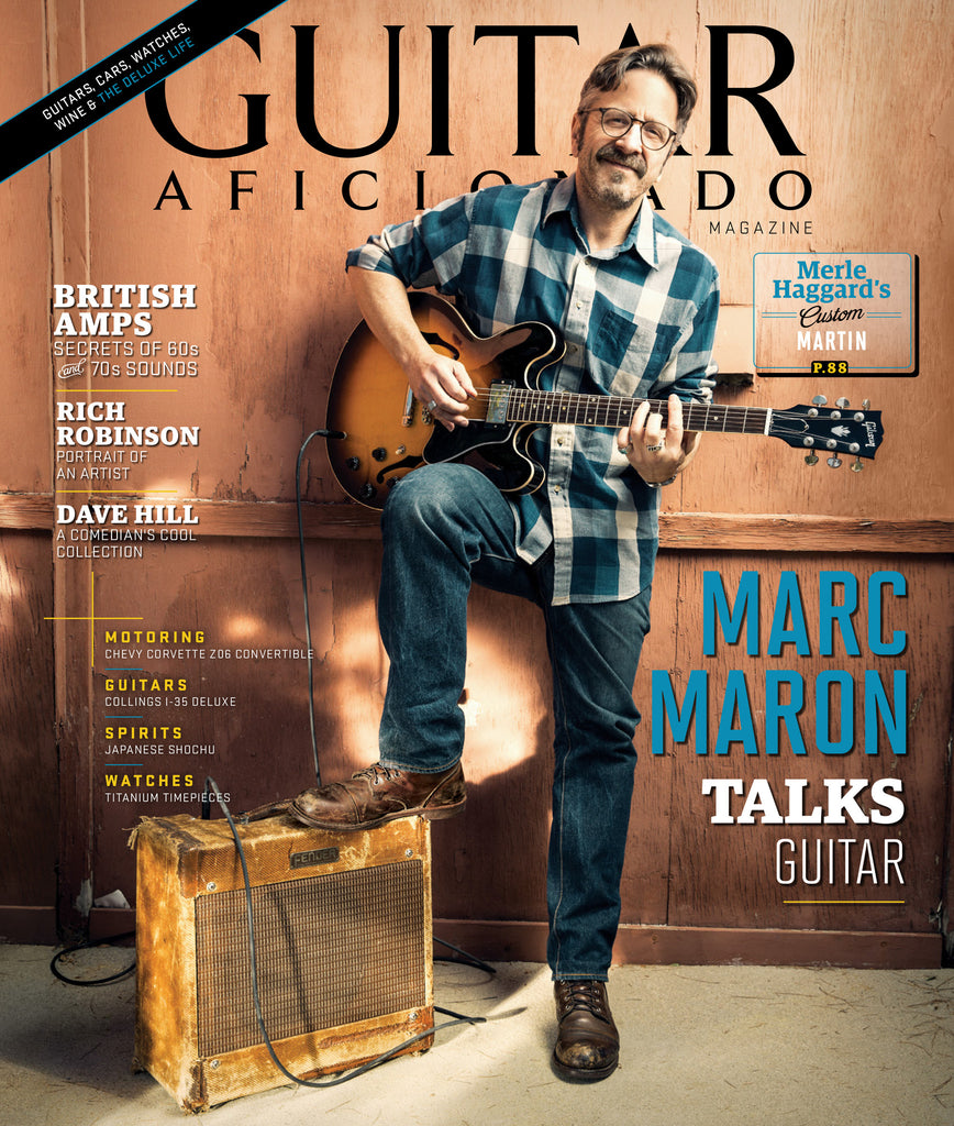Guitar Aficionado – Jul/Aug 2016 - Marc Maron - NewBay Media Online Store