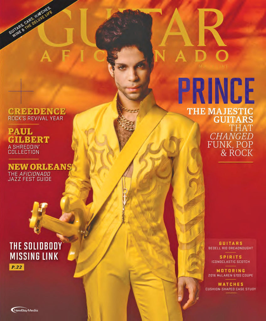 Guitar Aficionado – Sept/October 2016 - Prince - NewBay Media Online Store