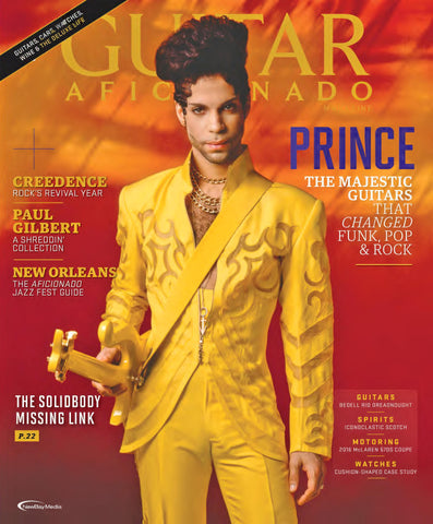 Guitar Aficionado – Sept/October 2016 - Prince