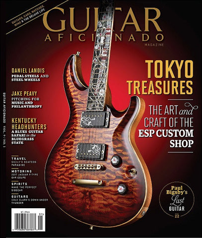 Guitar Aficionado – January/February 2017 - Tokyo Treasures - NewBay Media Online Store