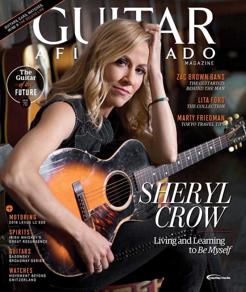 Guitar Aficionado – July/August 2017 - Sheryl Crow