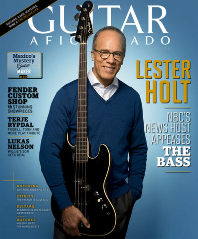 Guitar Aficionado – November/December 2017 - Lester Holt - NewBay Media Online Store