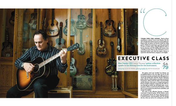 Guitar Aficionado Magazine - Mar/Apr 2011 - Jeff Daniels