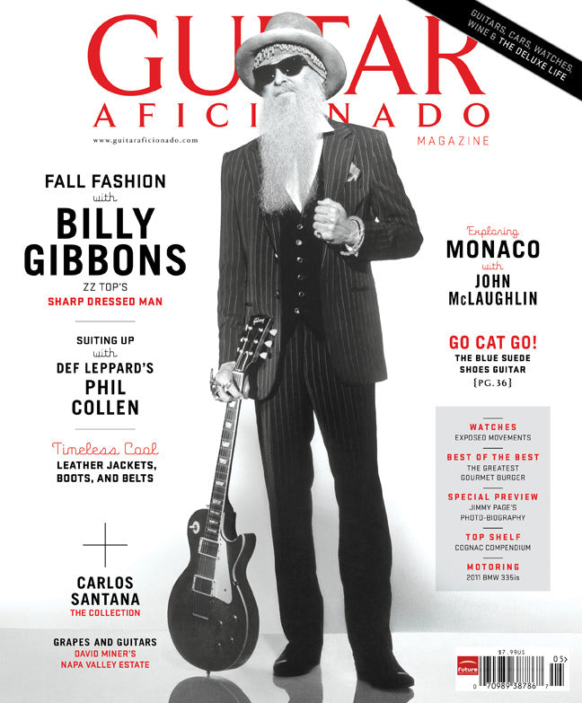 Guitar Aficionado Magazine - Fall 2010 - Billy Gibbons - NewBay Media Online Store