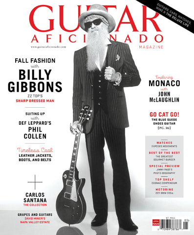 Guitar Aficionado Magazine - Fall 2010 - Billy Gibbons