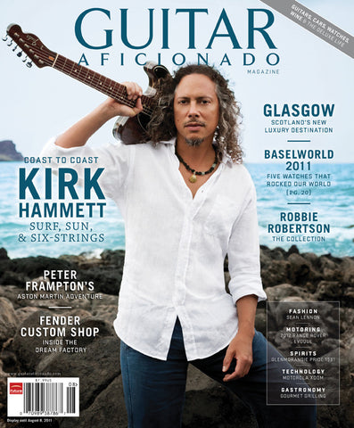 Guitar Aficionado Magazine-Jul/Aug 2011-Kirk Hammett