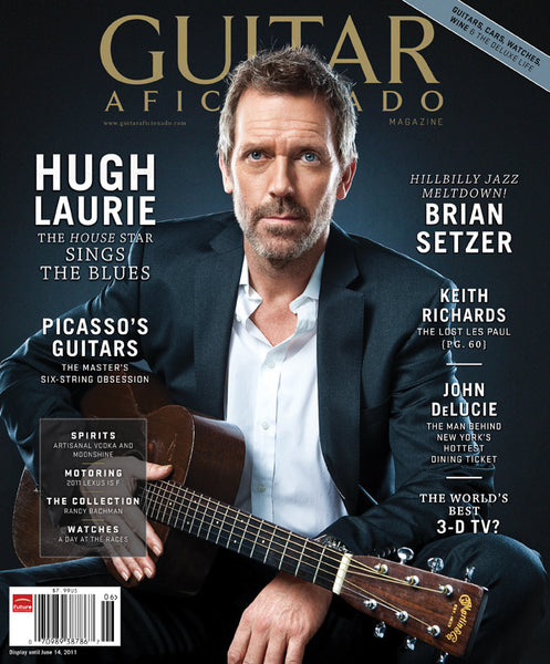Guitar Aficionado Magazine-May/June 2011-Hugh Laurie
