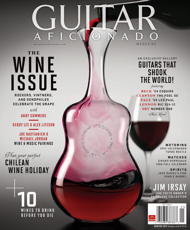 Guitar Aficionado-Winter 2011-The Wine Issue - NewBay Media Online Store
