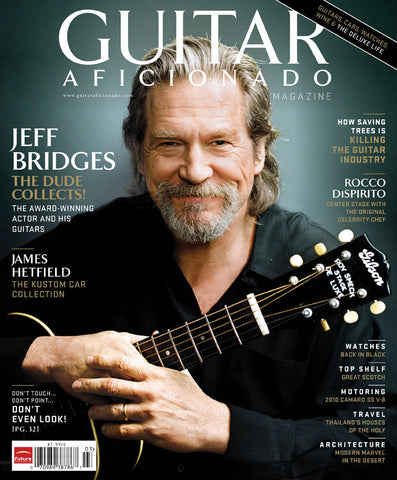 Guitar Aficionado Magazine - Spring 2010 - Jeff Bridges, James Hetfield