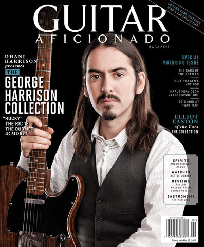 Guitar Aficionado-Spring 2012-The George Harrison Collection - NewBay Media Online Store
