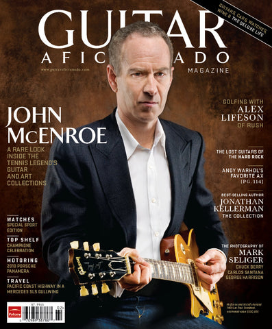 Guitar Aficionado Magazine - Winter 2009 - John McEnroe, Alex Lifeson