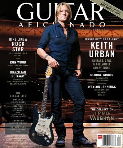 Guitar Aficionado Magazine - Jan/Feb 2011 - Keith Urban