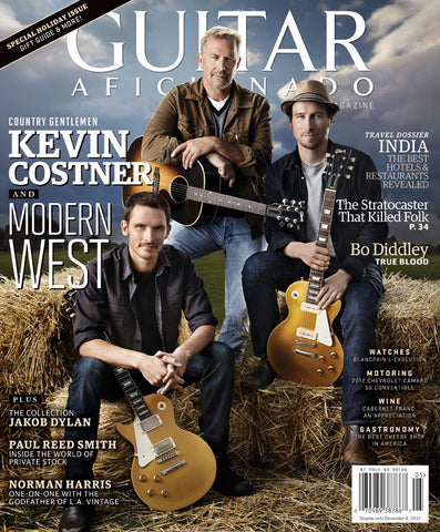 Guitar Aficionado- Oct/Nov - 2012 Kevin Costner