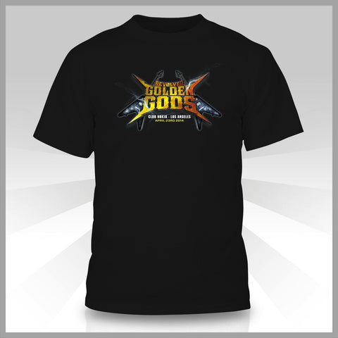 Revolver T-Shirt - Golden Gods 6th Anniversay
