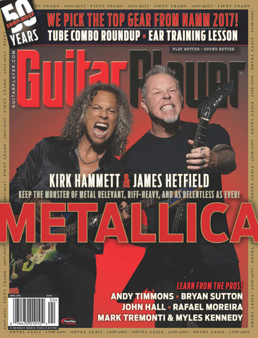 Guitar Player - April 2017 – Metallica - NewBay Media Online Store