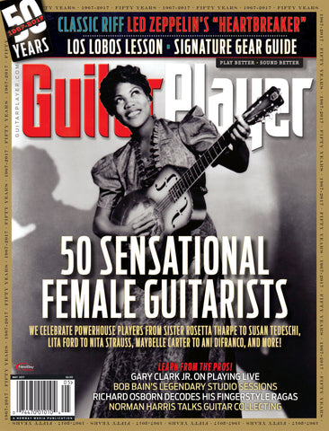 Guitar Player - May 2017 – 50 Sensational Female Guitarists
