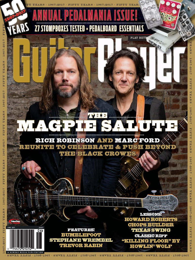 Guitar Player - June 2017 – The Magpie Salute - NewBay Media Online Store