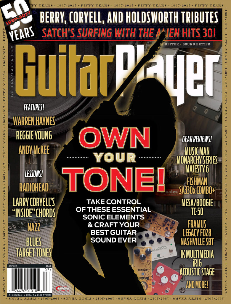 Guitar Player - July 2017 – Own Your Tone! - NewBay Media Online Store