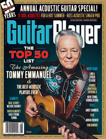 Guitar Player - August 2017 – Tommy Emmanuel - NewBay Media Online Store